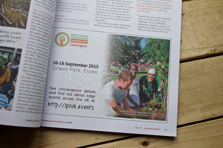 International Permaculture Convergence Permaculture Magazine