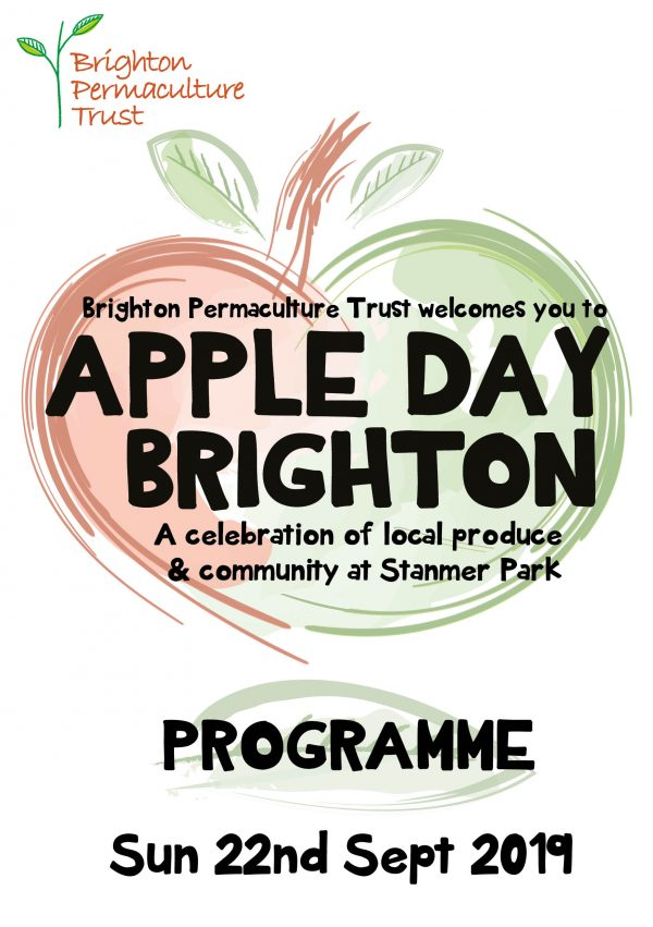 Apple Day Programme Cover